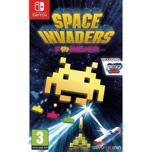 Space Invaders Forever till Nintendo Switch
