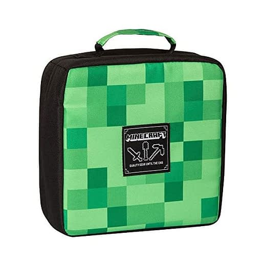Minecraft Lunch Box Miners Society Green