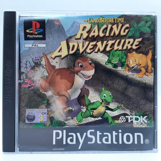 Land Before Time Racing Adventuretill Playstation 1 PS1