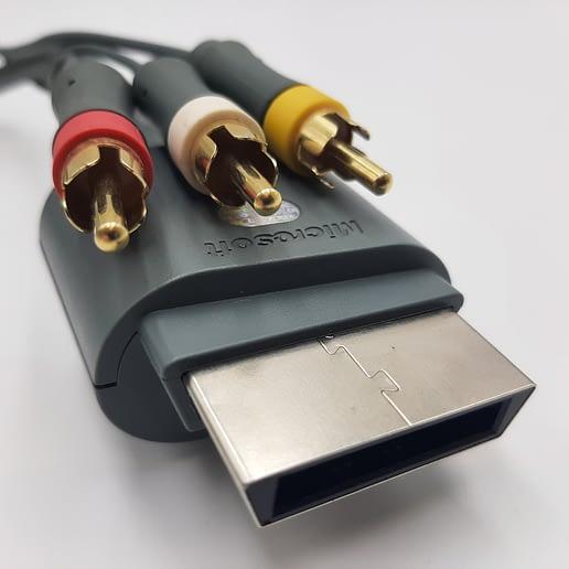 X360 AV RCA bildkabel Original