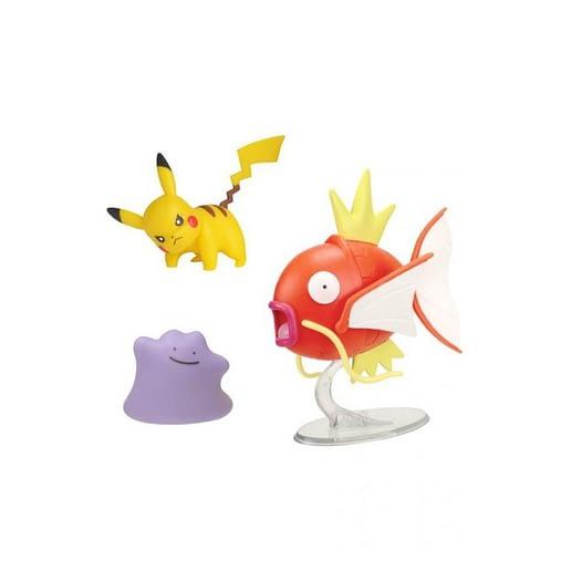 Pokemon Battle Feature Magikarp + Pikachu + Ditto