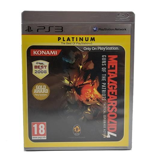 Metal Gear Solid 4: Guns of the Patriots till Playstation 3