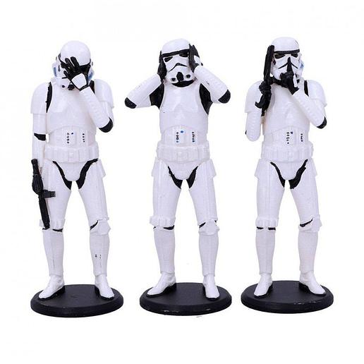 Star Wars Three Wise Stormtrooper Figure