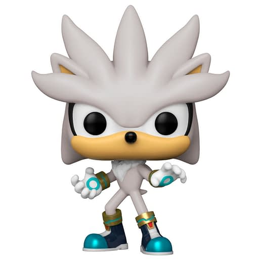 Funko Pop Sonic the Hedgehog Silver