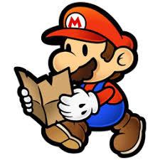 Paper Mario Reading