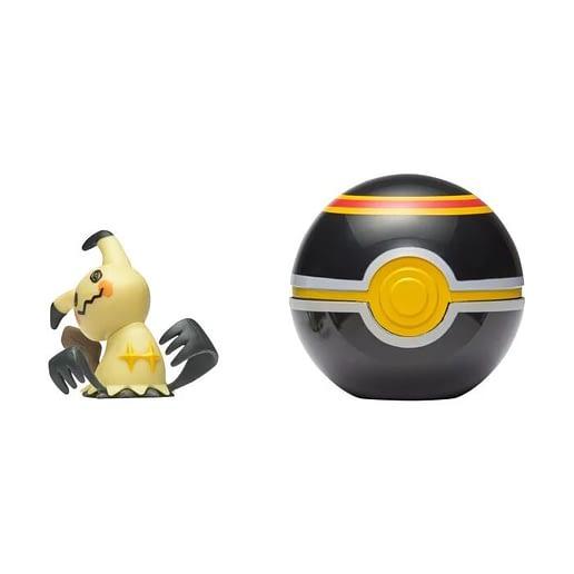 Pokemon Clip n Go Mimikyu + Luxury Ball