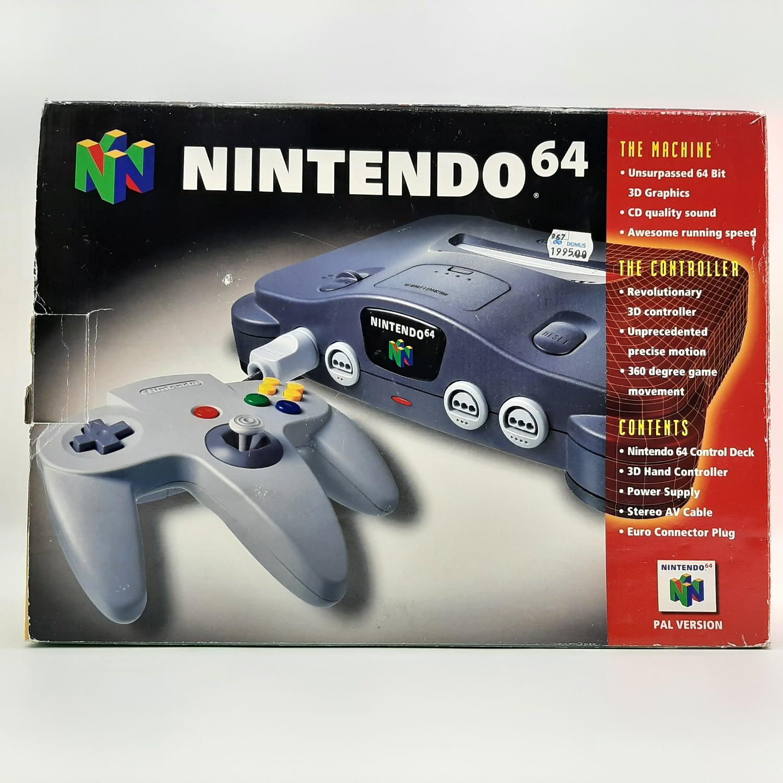 Nintendo 64 Basenhet (Boxad)