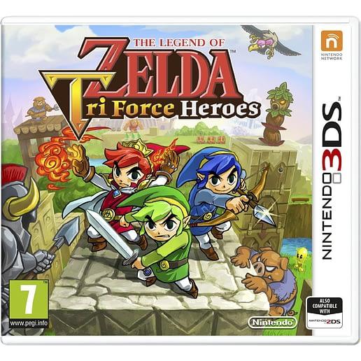 The Legend of Zelda Tri Force Heroes till Nintendo 3DS