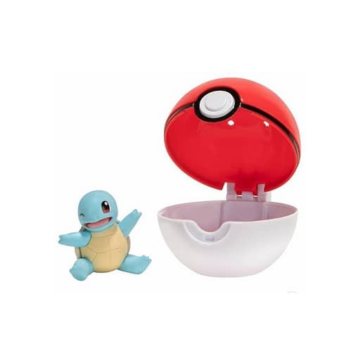 Pokemon Clip n Go Squirtle + Poke ball