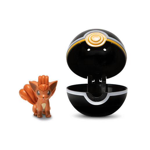 Pokemon Clip n Go Vulpix + Luxury ball