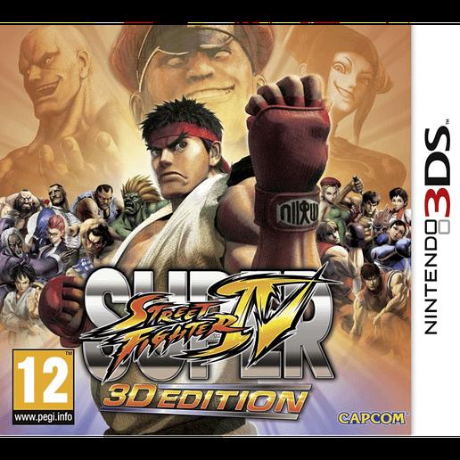 Super Street Fighter IV 3D Edition till Nintendo 3DS