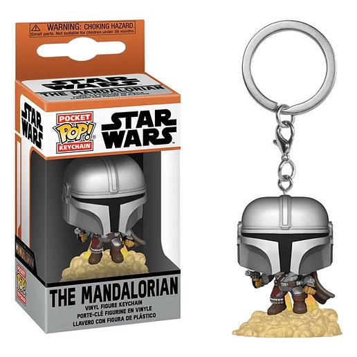 Pocket POP Star Wars The Mandalorian Nyckelring