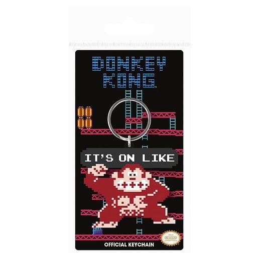 Nintendo Donkey Kong It's On Nyckelring