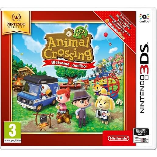 Animal Crossing New Leaf Welcome amiibo till Nintendo 3DS