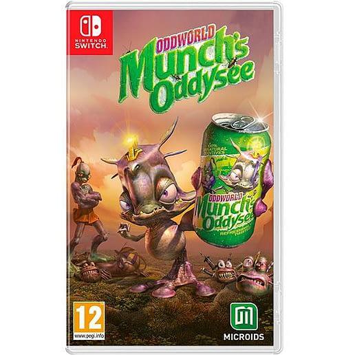 Oddworld Munch Odyssey till Nintendo Switch