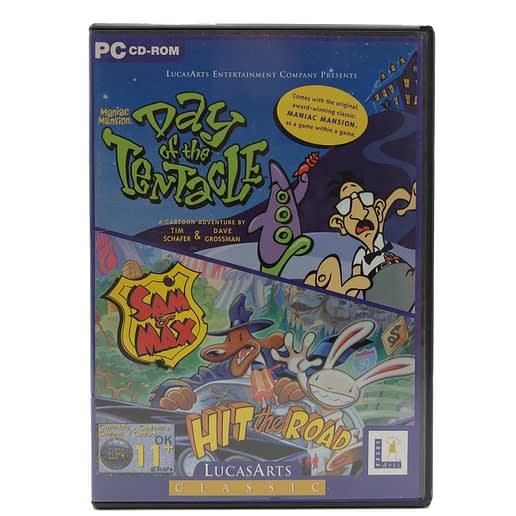 Maniac Mansion II: Day of the Tentacle - Sam & Max Hit the Road till PC