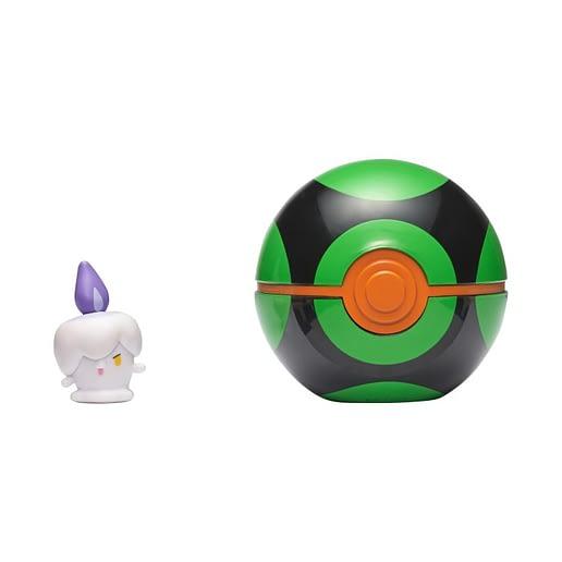 Pokemon Clip n Go Litwick + Dusk Ball