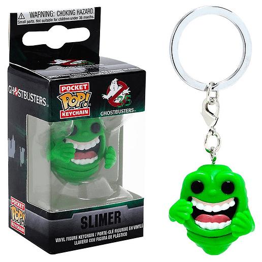 Pocket POP Ghostbusters Slimer Nyckelring