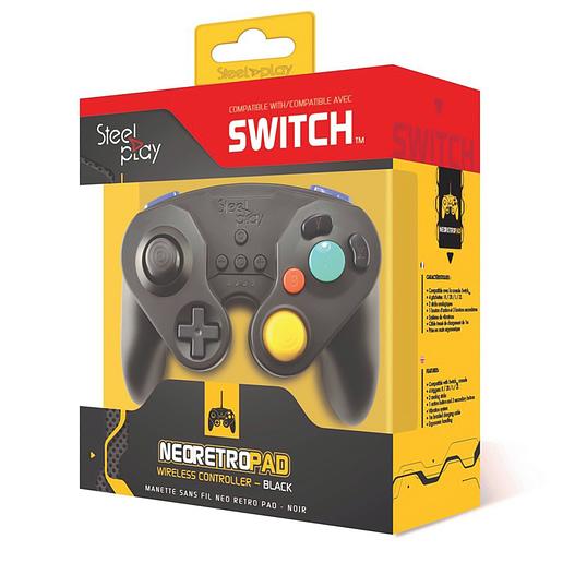 Steelplay Trådlös Kontroll Grå till Nintendo Switch