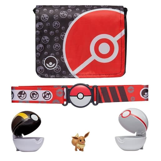 Pokemon Clip n Go Bandolier Set