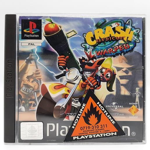 Crash Bandicoot 3 Warped till Playstation 1 PS1