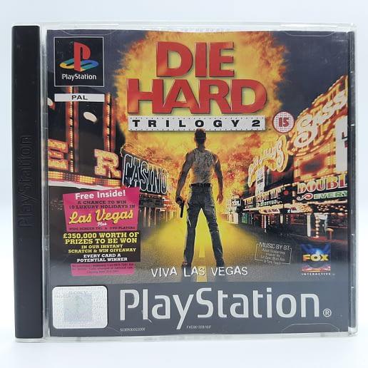Die Hard Trilogy 2 Viva Las Vegas till Playstation 1 PS1