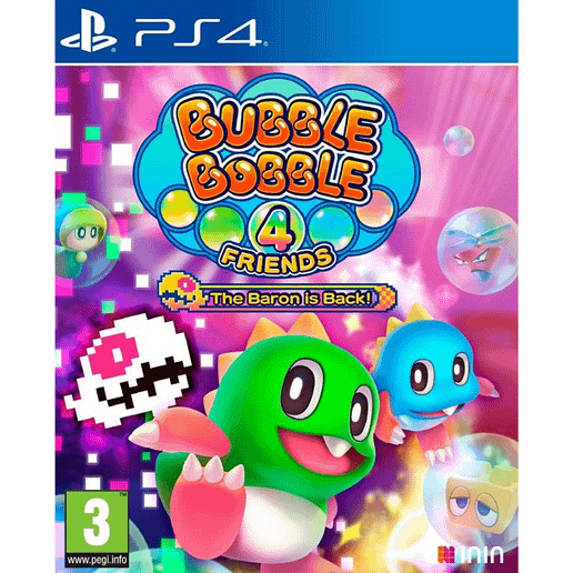 Bubble Bobble 4 Friends Baron is Back till Playstation 4
