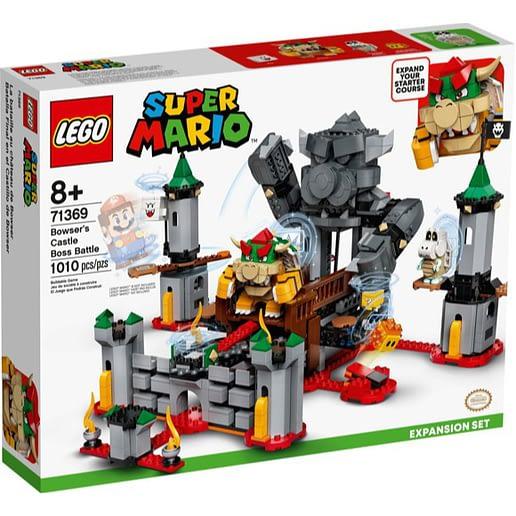 Lego Super Mario 71369 Bowser's Castle Boss Battle (2)