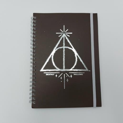 Harry Potter Deathly Hallows A5 Anteckningsbok