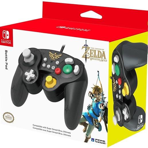 Super Smash Bros Gamepad Zelda till Nintendo Switch