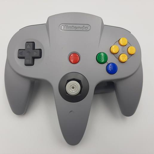 Handkontroll Grå Nintendo 64 N64