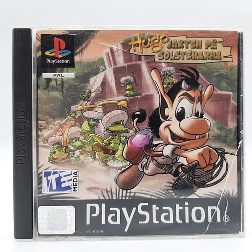 Hugo Jakten på Solstenarna till Playstation 1 PS1