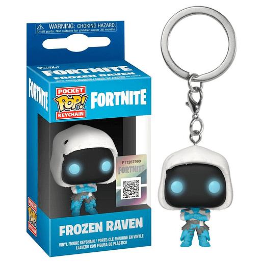 Pocket POP Fortnite Frozen Raven Nyckelring