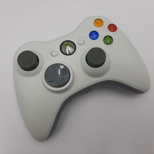 Handkontroll Vit till Xbox 360