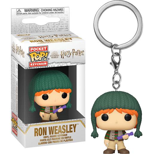 Pocket POP Harry Potter Holiday Ron Nyckelring