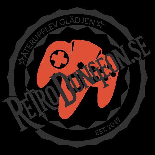 RetroDungeon logo stamp