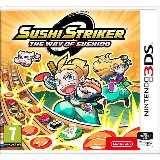Sushi Striker the Way of Sushido till Nintendo 3DS