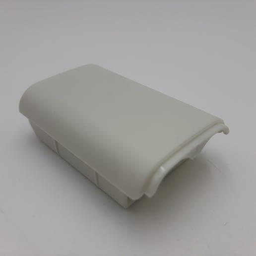 Batterilucka Vit Xbox 360