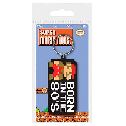 Nintendo Super Mario Bros 80s Nyckelring