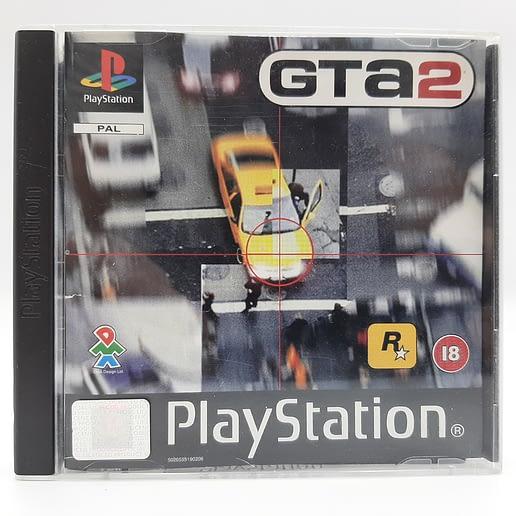 Grand Theft Auto 2 till Playstation 1 PS1