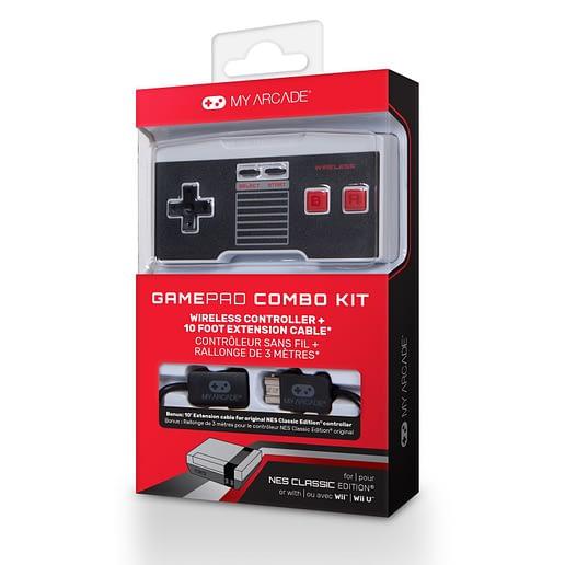 My Arcade Trådlös Handkontroll till NES Classic Mini