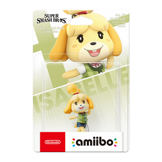 amiibo Super Smash Bros Isabelle