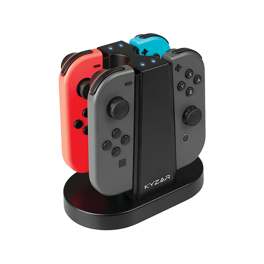 Kyzar Switch Quad Charging Station till Nintendo Switch