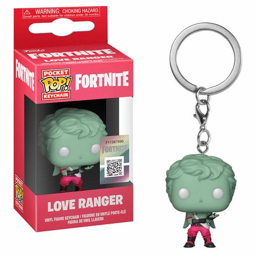 Pocket POP Fortnite Love Ranger Nyckelring