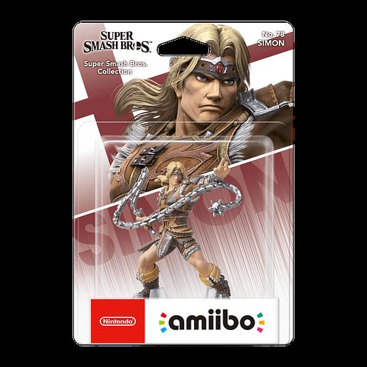 amiibo Super Smash Bros Simon