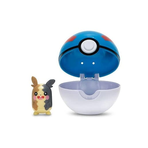 Pokemon Clip n Go Morpeko+ Great Ball