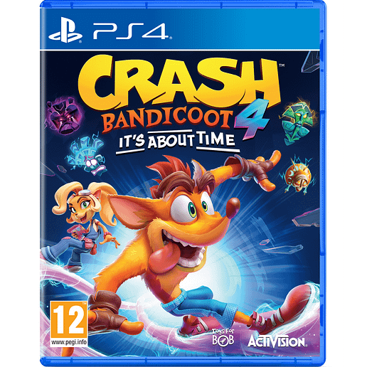 Crash Bandicoot 4 Its About Time till Playstation 4
