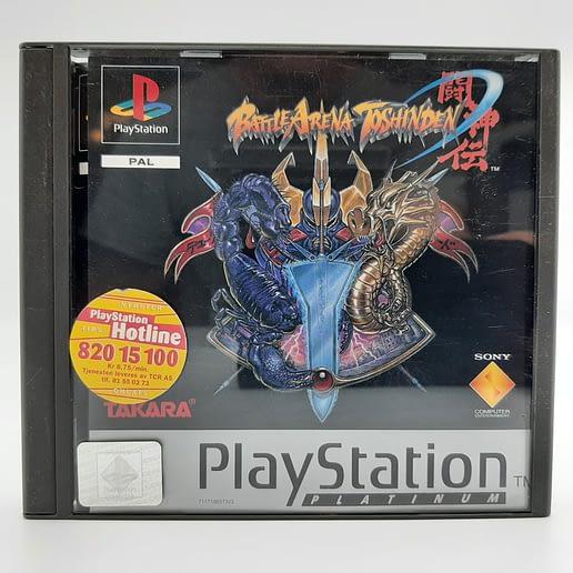 Battle Arena Toshiden till Playstation 1 PS1