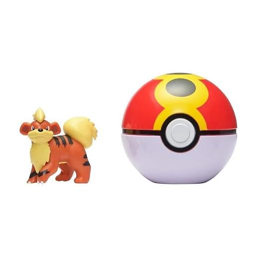 Pokemon Clip n Go Growlithe + Repeat ball